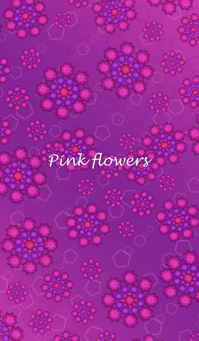 Pink flowers !