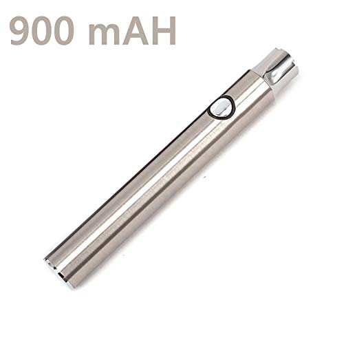 Oil Pen Battery Variable Voltage Double Capacity 900 mAh Black