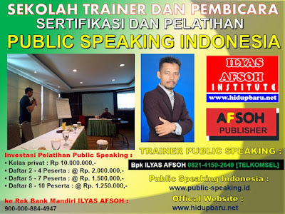 PUBLIC SPEAKING MAHASISWA 0821-4150-2649 [TELKOMSEL]