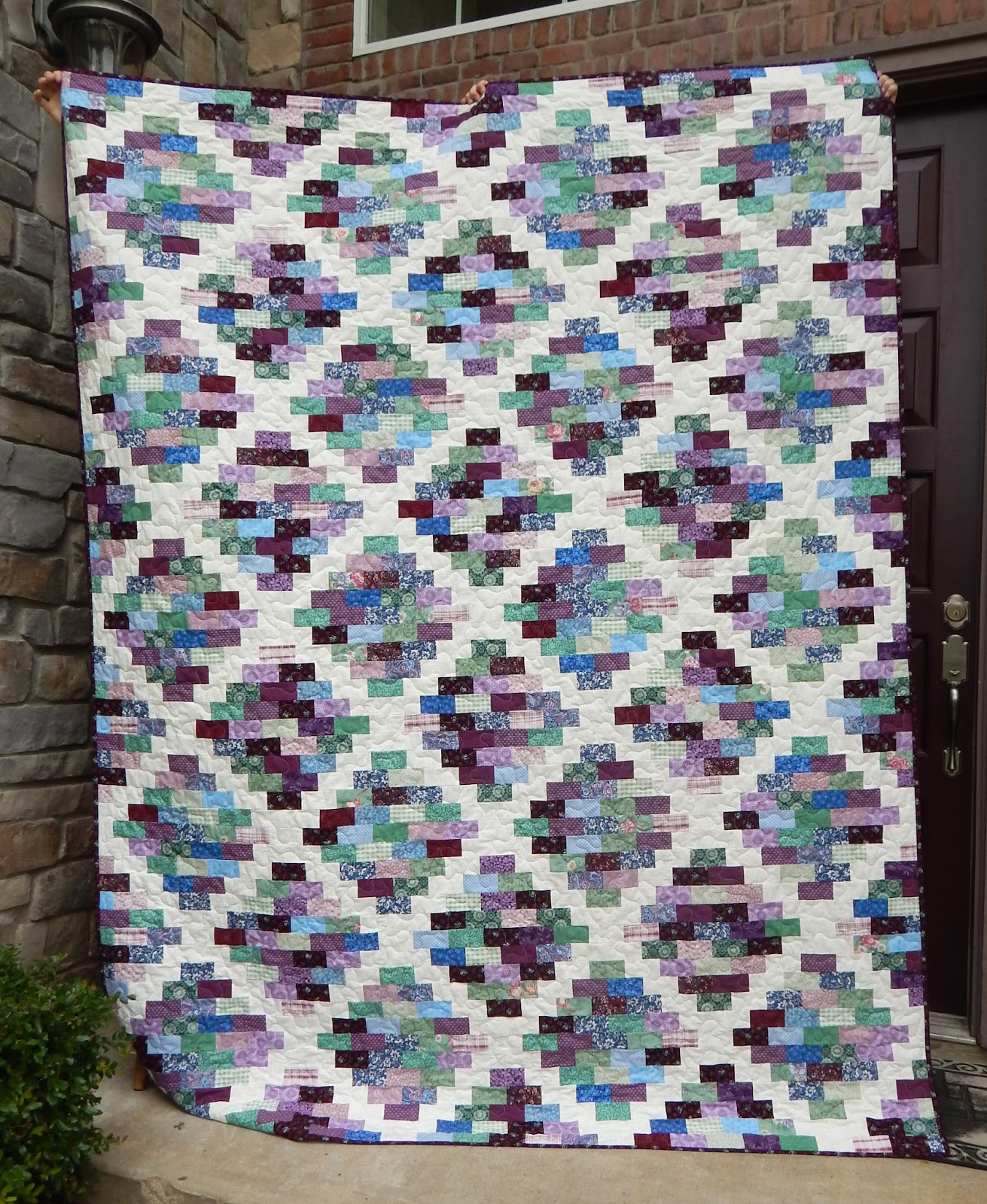 country cottages quilted multi bedding for quilts warm cotton sham standard p patchwork quilt sale cottage