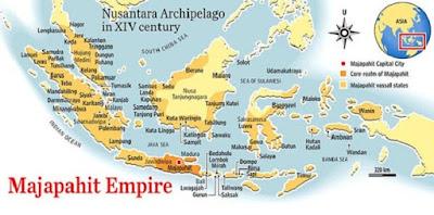 wilayah kekuasaan kerajaan Majapahit - berbagaireviews.com