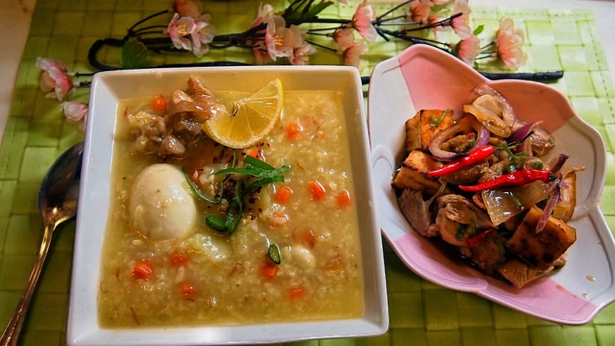 Luweeh S Kitchen Arroz Caldo Lugaw With Carrots And