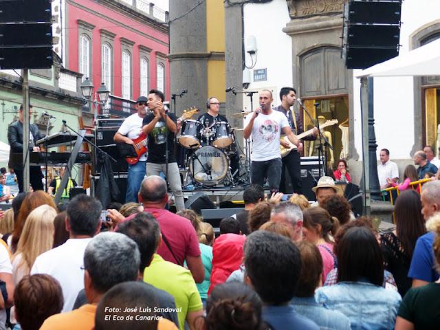 Vídeo concierto Los 600, Arucas