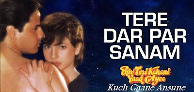 Kumar Sanu song from Phir Teri Khani Yaad Aaye