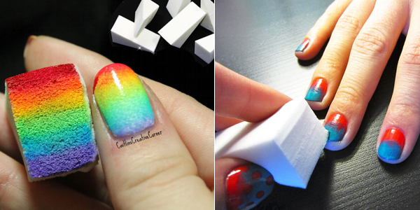 Ombre Nail Tutorials With Sponge