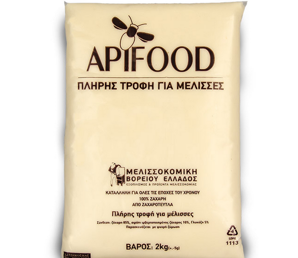 Apifood: Μελισσοτροφή τύπου πάστας στην σωστή τιμή
