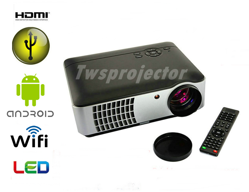 LED ANDROID PROJECTOR DS806 WIFI (ALL IN 1 ) 11,900 B