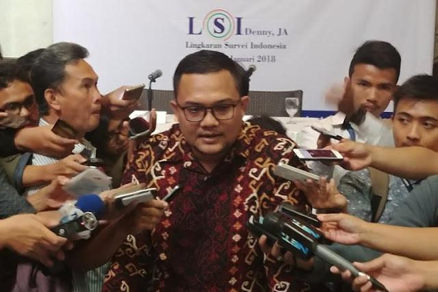 Survei LSI: 77 Persen Publik Nilai Politik RI Lebih Stabil jika Ada 1 Parpol Kuat