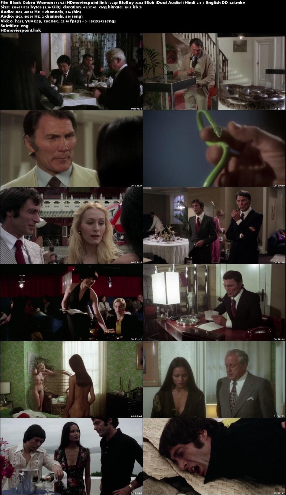 screen shot Black Cobra Woman 1976 Full Movie Download Dual Audio 720p
