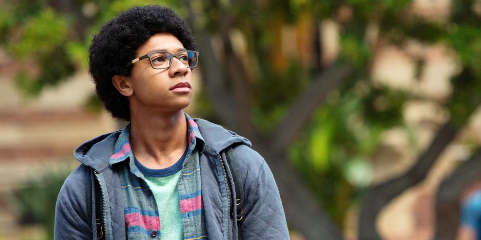 Fotografía de DeRon Horton, que interpreta a Lionel, en 'Dear White People'