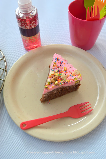 Ice Cream Cake - Home Made Ice Cream Cake