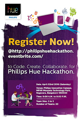 PHILIPS HUE HARDWARE HACKATHON EVENT