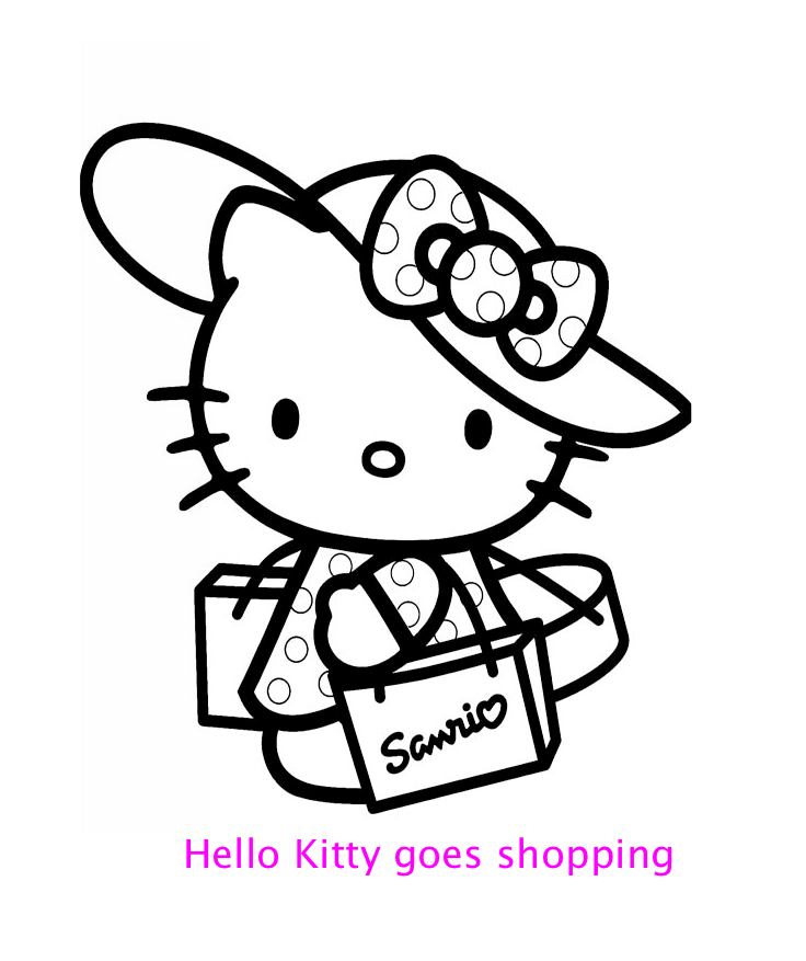 i love you hello kitty coloring pages - photo #41