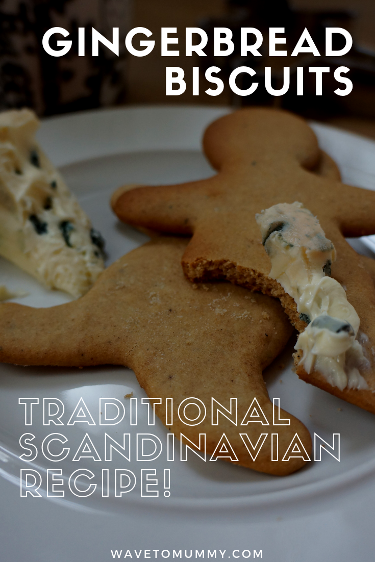 Delicious Finnish recipe for traditional Scandinavian gingerbread biscuits - soft and spiced, they go great with blue cheese!