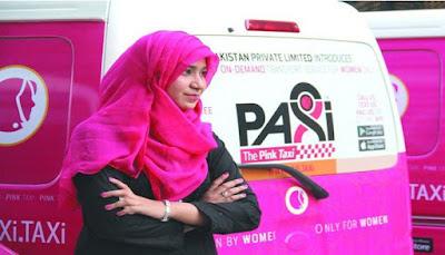 Taksi Pink Khusus Perempuan di Pakistan Mulai Beroperasi