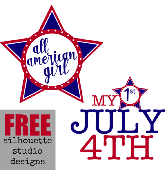 free july 4th silhouette studio designs file download memorial day stars patriotic