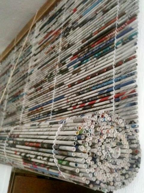 KUFER z artystycznym rękodziełem : Papierowa wiklina inaczej