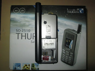 hape seken satelit Thuraya SO-2510