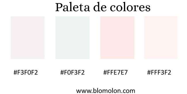 paletas de colores 4