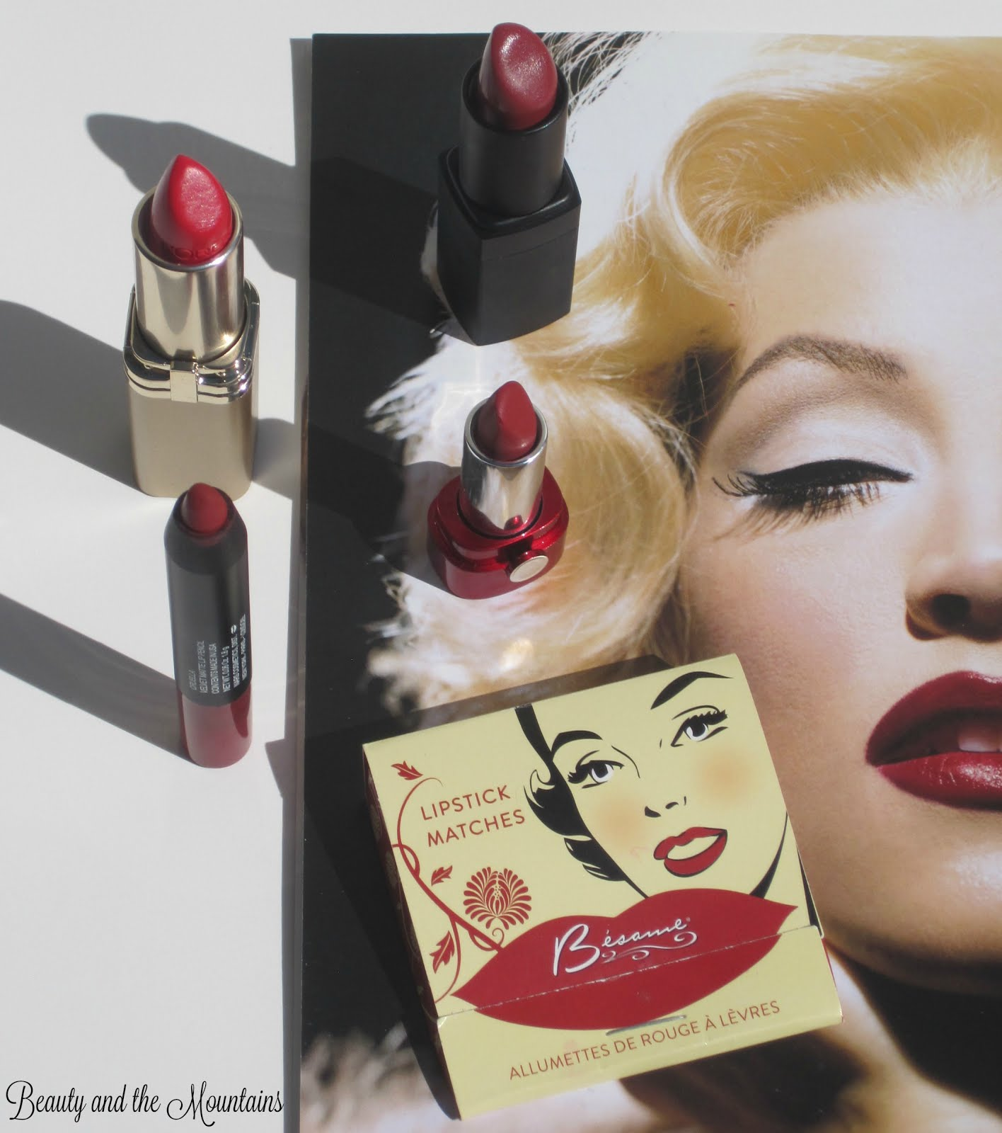 Beauty and the Mountains: Besame Cosmetics Lipstick ...