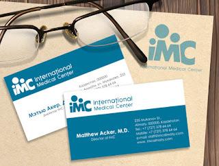 In card visit dành cho bác sĩ