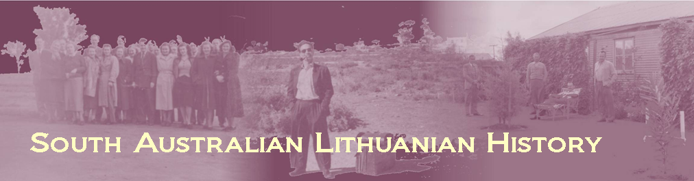 South Australian Lithuanian History