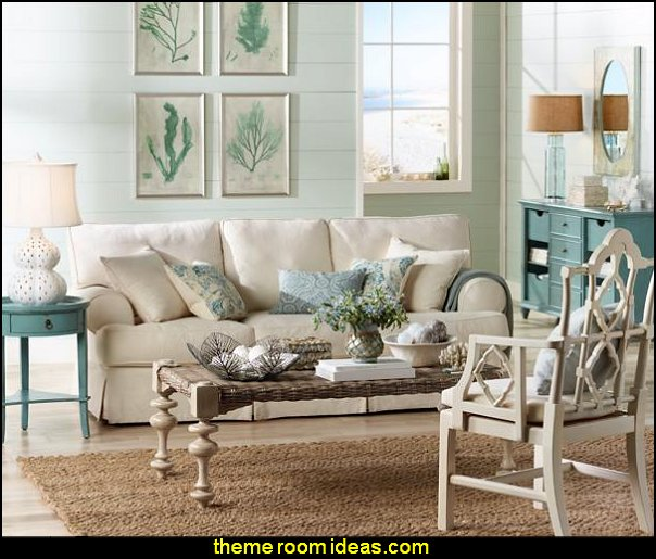 seaside cottage decorating decor  seaside cottage decorating ideas - coastal living living room ideas - beach cottage coastal living style decorating ideas - beach house decor - seashell decor - nautical bedroom furniture
