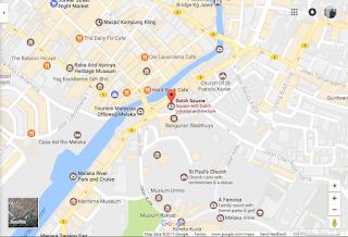 lokasi bangunan merah