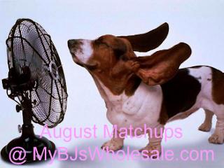 BJ's Coupon Matchups - August 2012