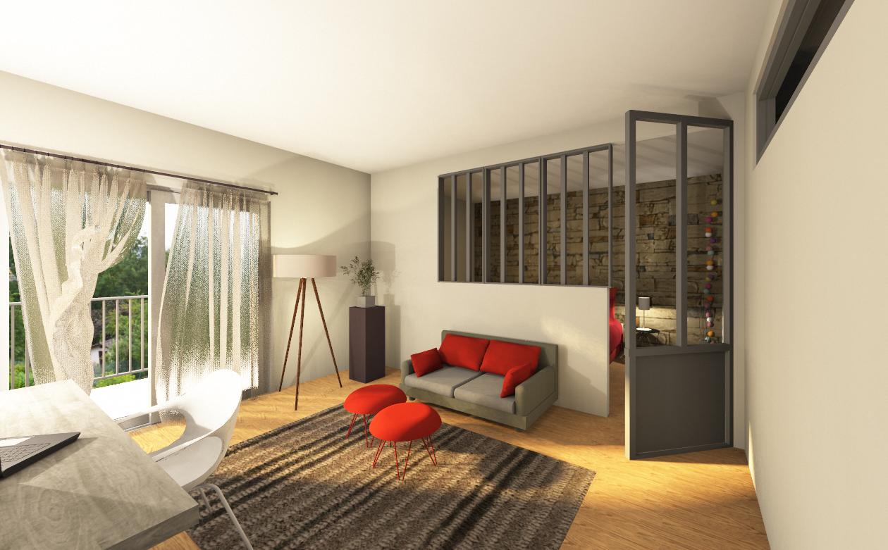 happy family news architecture d coration d 39 int rieur proposition d 39 am nagement d 39 un grenier. Black Bedroom Furniture Sets. Home Design Ideas