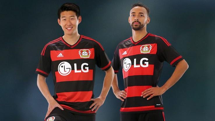 Bayer Leverkusen 15 16 Trikots veröffentlicht Nur Fussball