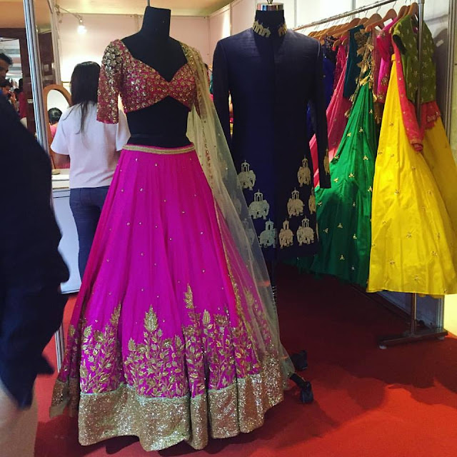 Ashwini Reddy Latest Purple Lehenga