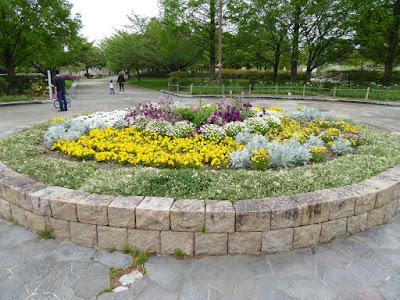 深北緑地公園 円形花壇