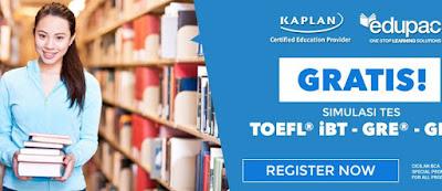Kaplan Test Preparation Edupac Penunjang Kuliah di Luar Negeri