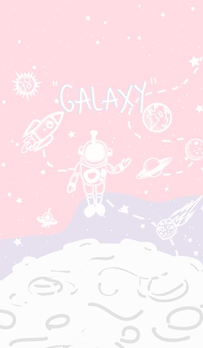 Galaxy Pink.