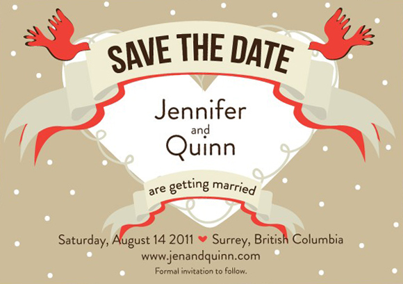 Wedding Invitations And Save The Dates Packages