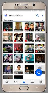 BBM MOD Tema Putra Chou v3.0.1.25 Apk Terbaru 2016 Gratis