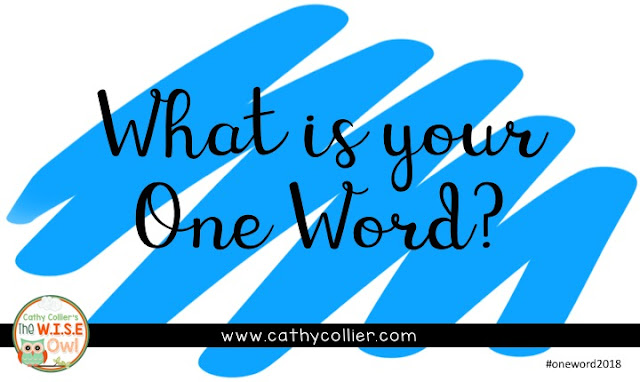 #oneword2018 What will your word be for 2018? My word will help me keep my focus and HONOR my life. What about you?