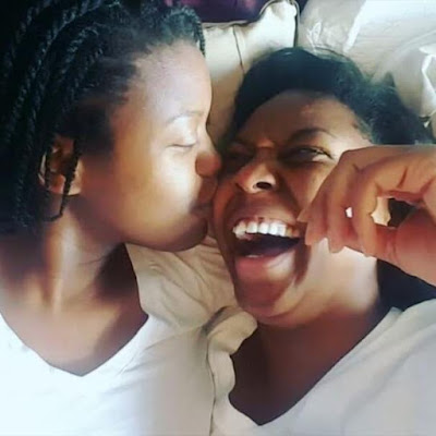 Nigerian lesbian celebrates three years anniversary with her girlfriend