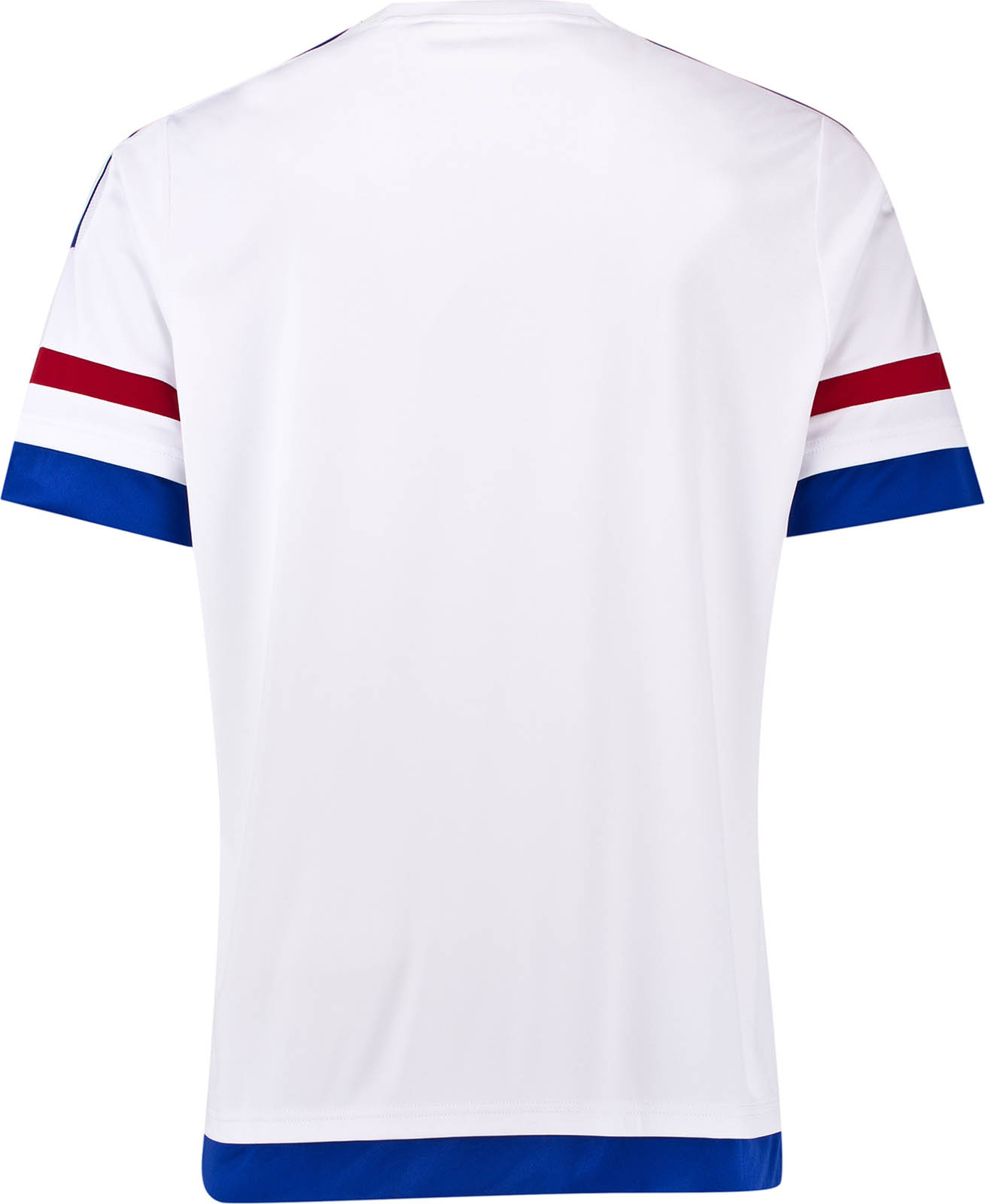 80f10c4e6ce The new white Adidas Chelsea 15-16 Away Kit has a modern kit design with a  simple white crew neck collar. The Yokohama sponsor logo on the Chelsea 2015 -2016 ...