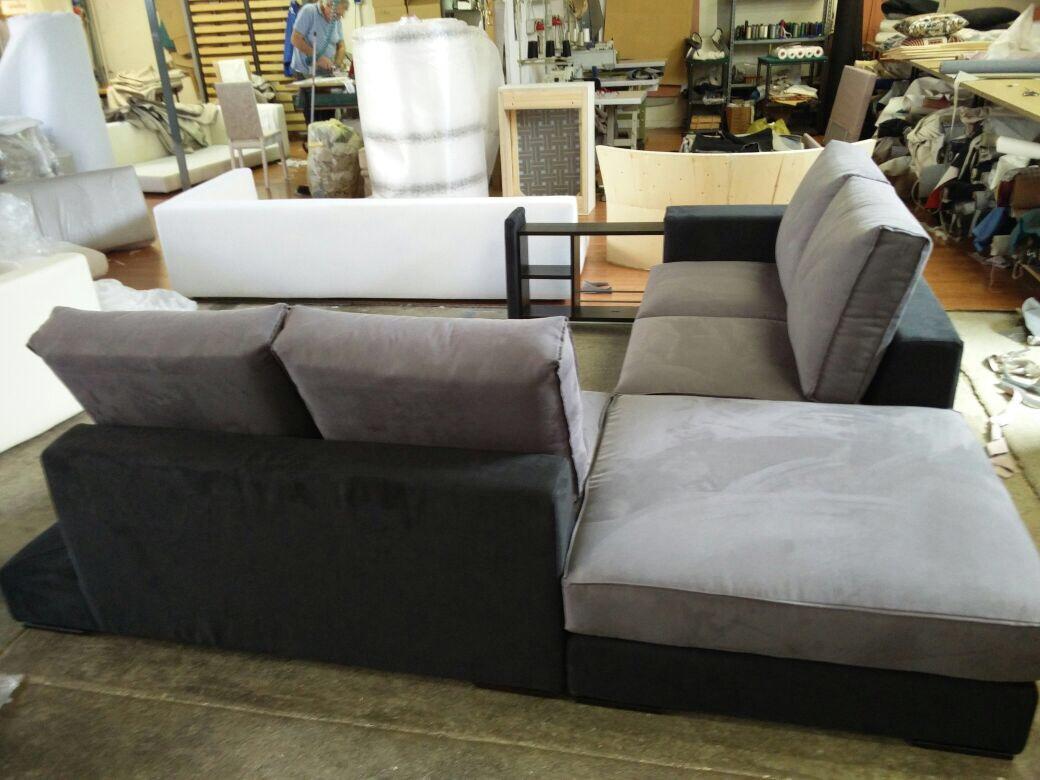 Divani e divani letto su misura divano angolare su misura for Divani b b