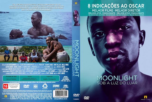 Capa DVD Moonlight Sob A Luz Do Luar