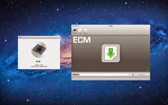 Cara Mengubah Format ECM Menjadi ISO Full Tutorial