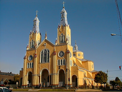 San Francisco Church in Castro, Chiloé Archipelago