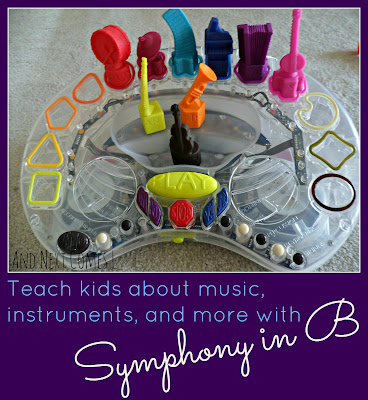 Teach kids about music with Symphony in B {review} from And Next Comes L