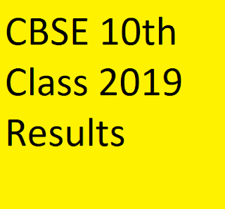CBSE 10th Class 2019 Results