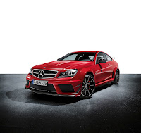 2011 Mercedes C63 AMG Coupé Black Series Official Original Picture Photo Image Press Media