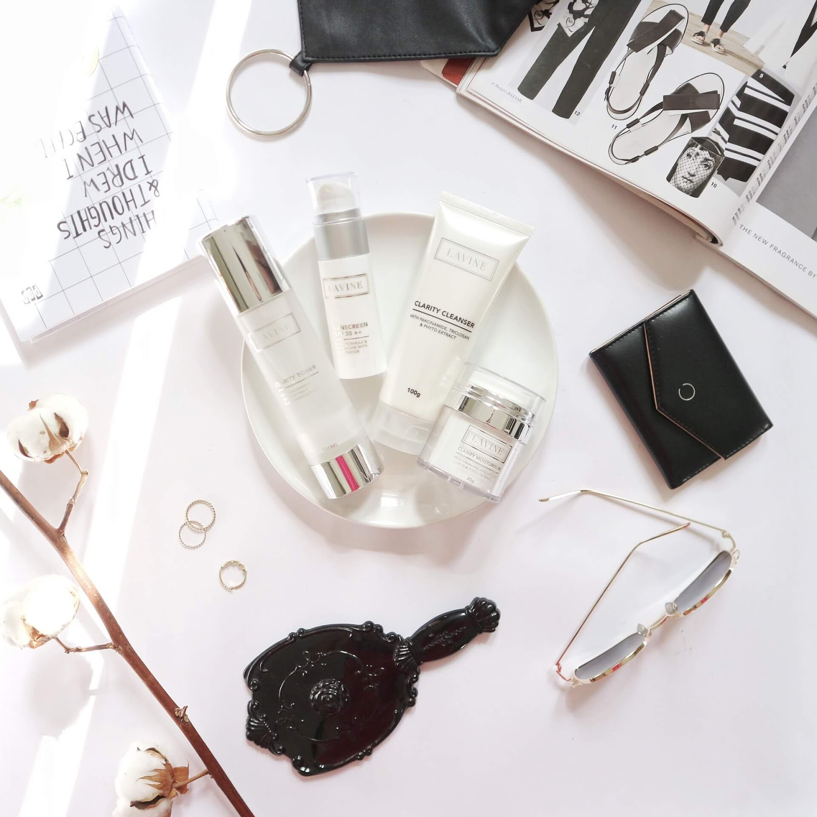 Clarity Whitening Series dari Lavine Cosmetics.