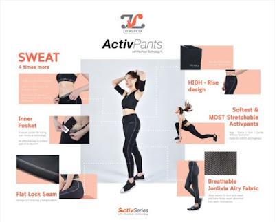 Hotpants, hotpants jonlivia, jonlivia, pakaian senaman, seluar dapat membakar lemak, seluar senaman jonlivia, seluar senaman terbaik, tips kesihatan,