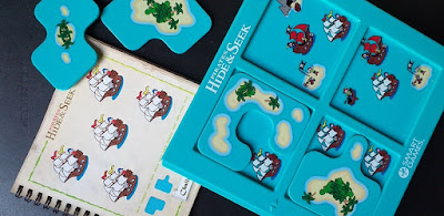 Escondite en la isla - smart games juego de mesa hide&seek pirates
